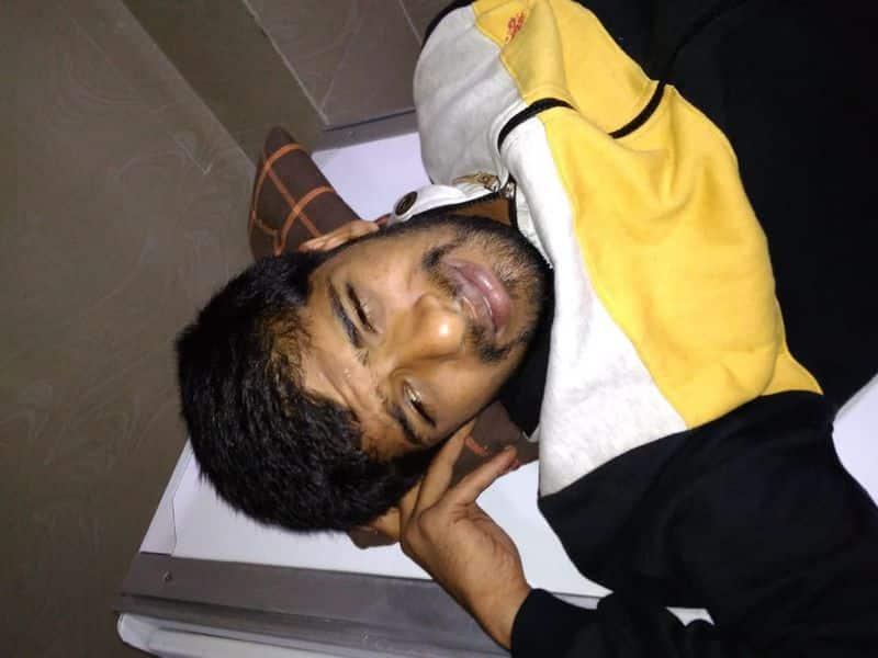 Bengaluru Nelamangala Police Shootout on Rowdy Sheeter