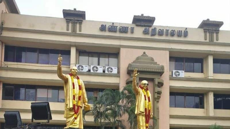 DMK made changes in salem party office bearers