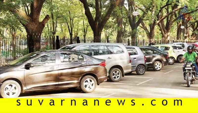 Criminal Case Against Those Who Vehicle Park in Footpath in Bengaluru grg