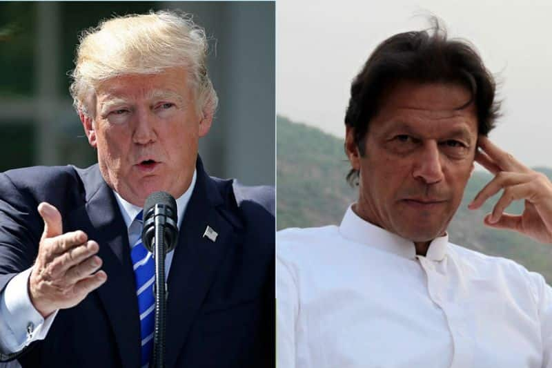 Donald Trump asks Pakistani PM Imran Khan to resolve tensions with India bilaterally