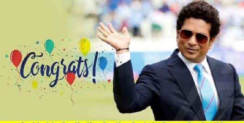 sachin tendulkar is so happy because his twitter followers are increased more than 3 crores
