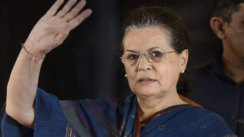 After 20 months, Sonia Gandhi returns to head Congress; named interim president