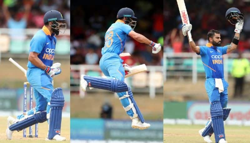 2nd ODI Virat Kohli ton hands India 1-0 lead over West Indies