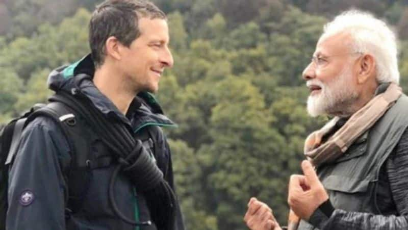 Prime Minister Modi encounter in the wild Bear Grylls