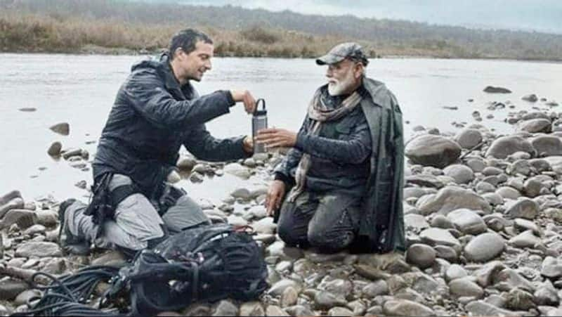 Man Vs Wild: Beer grills met PM Modi after walking 4 km, gave this message to the world