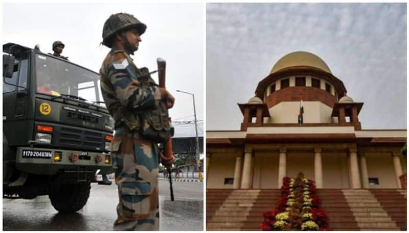 Supreme court is with modi government on jammu kashmir issue