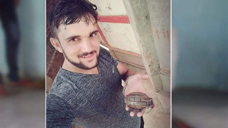 Shocking video viral on social media : Youth made video with hand grenade and other weapons