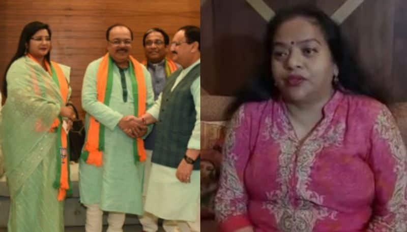 Ratna Chatterjee meeting with BJP mp Soumitra Khan spreads new equation