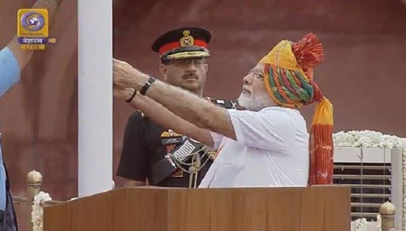 Independence Day: PM Modi hoists national flag in Red Fort; set to constitute chief of defence staff