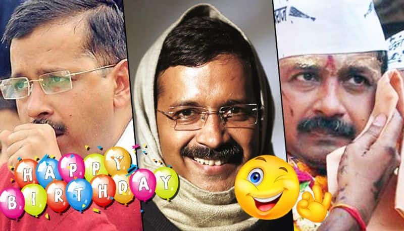 Arvind Kejriwal turns 51: From muffler to getting inked, has Delhi CM shed his old image?