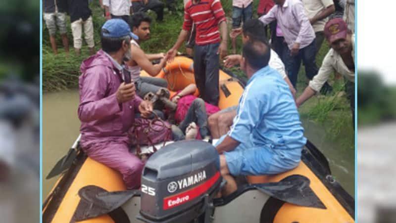 Flood threat continues in Madhya Pradesh, many died