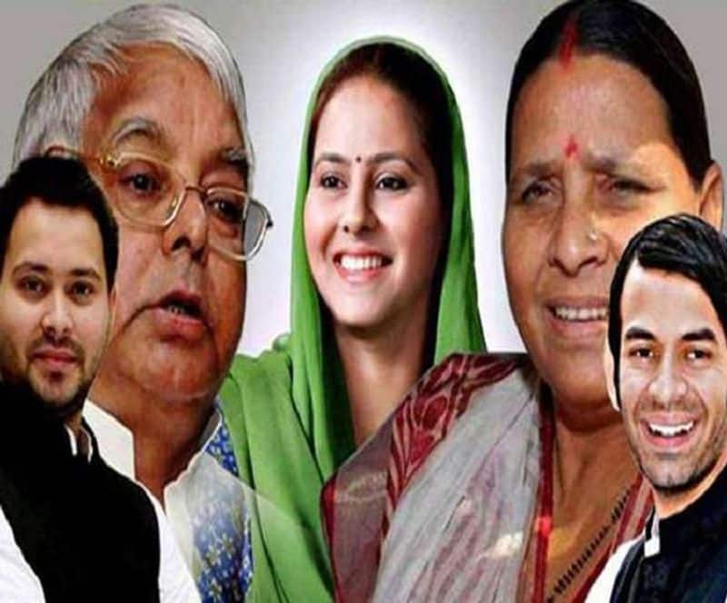 Lalu's party is moving towards scattering, Tejashwi demand for executive president but tej will be rebel