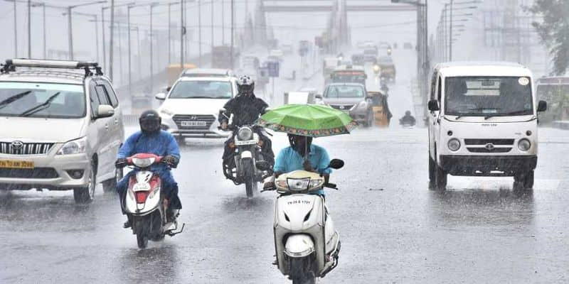 next 24 hour's rain will heavy in 9 district  meteorology department alert