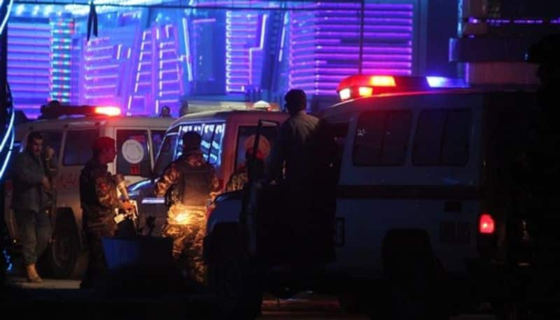 Suicide attack in a wedding ceremony in Kabul, 63 dead, 182 injured