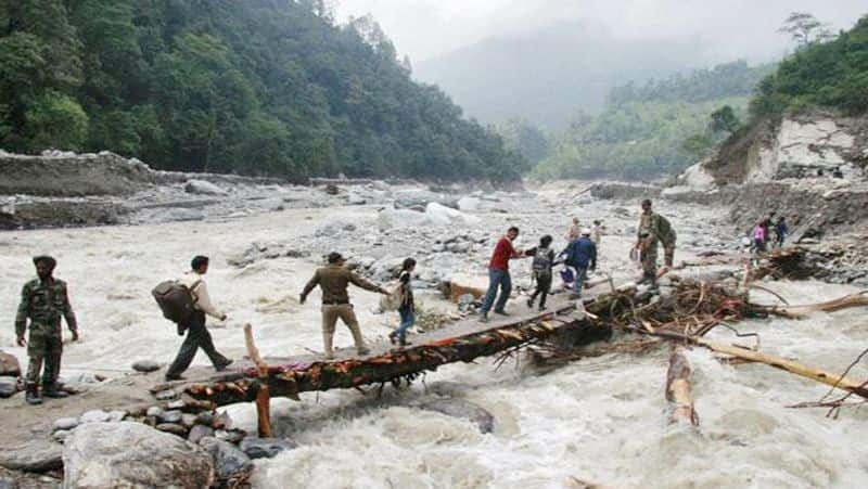 Beas river in Gurdaspur overflows: 11 rescued; 23 missing in Uttarakhand due to cloudburst