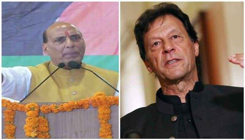 If now india will discuss on kashmir than it will be pak occupied kashmir says defense minister rajnath singh