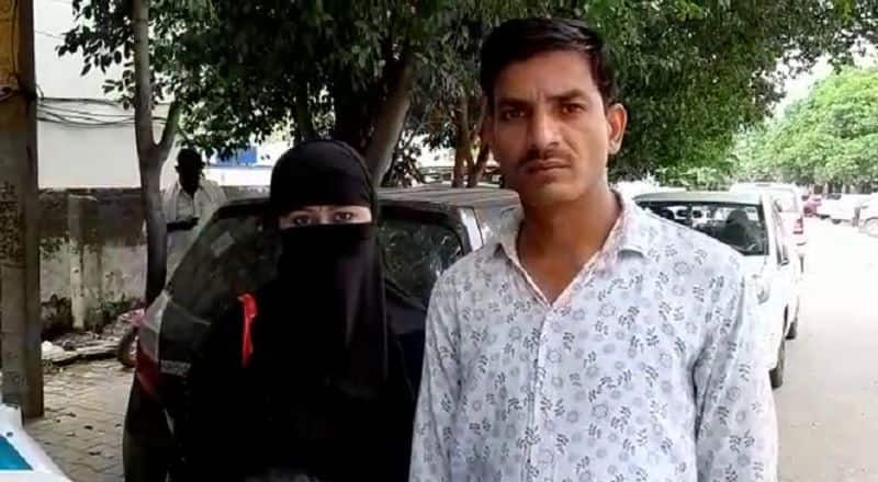 newly married couple reached SP office for security in baghpat