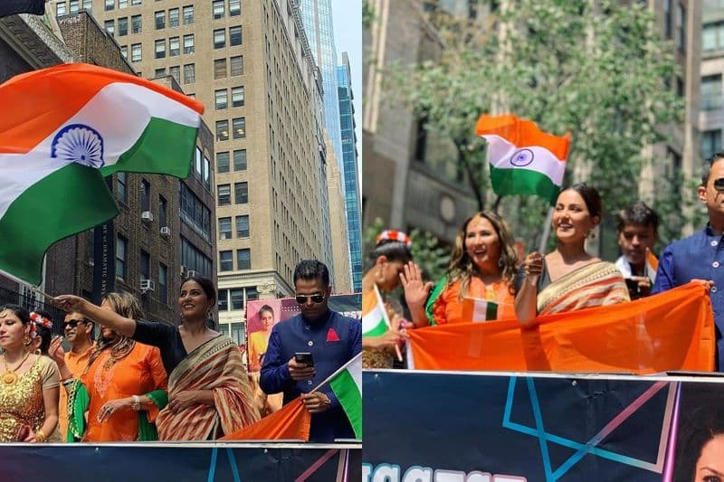 Hina Khan celebrates Independence Day on New York streets; see pics