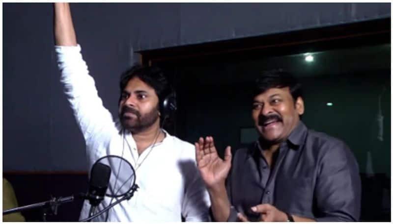 Watch Pawan Kalyan dub for brother Chiranjeevis Sye Raa Narasimha Reddy