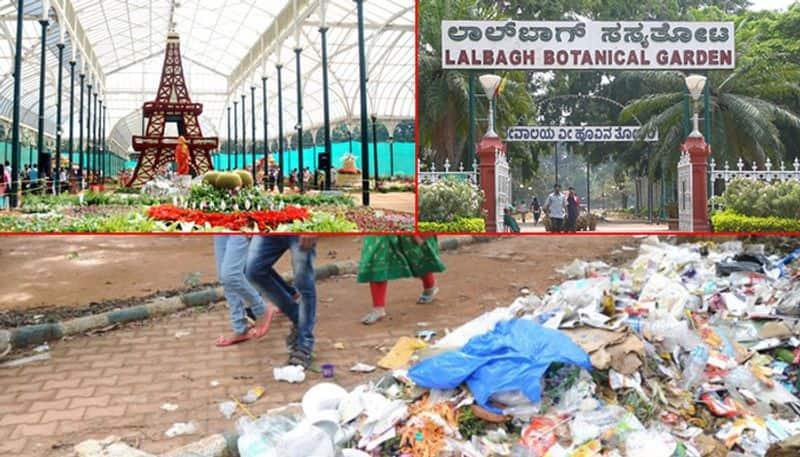 Karnataka: 1 tonne of plastic recovered from flower show in Lal Bagh