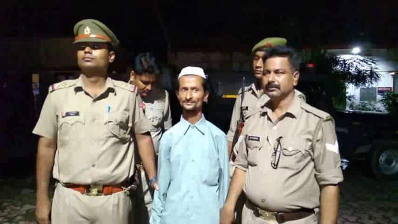 bareilly police arrested a muslim cleric who threatened a woman