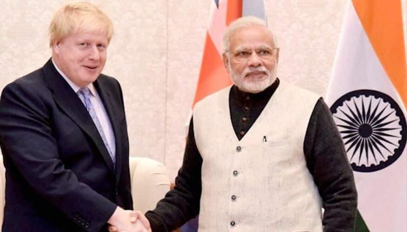 PM Modi calls up British PM Boris Johnson raises issue of violence against Indian diaspora