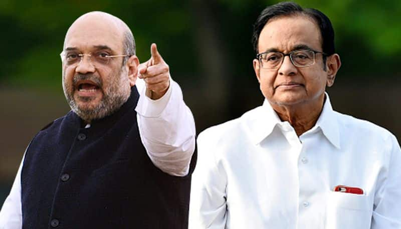 How did Amit Shah know seven years ago that Chidambaram would be arrested