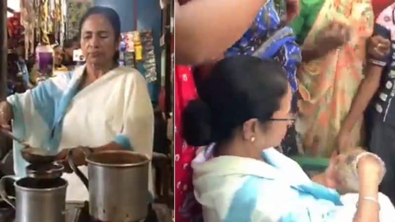 Mamata's visit to tea shop is part of Prashant Kishor election strategy!