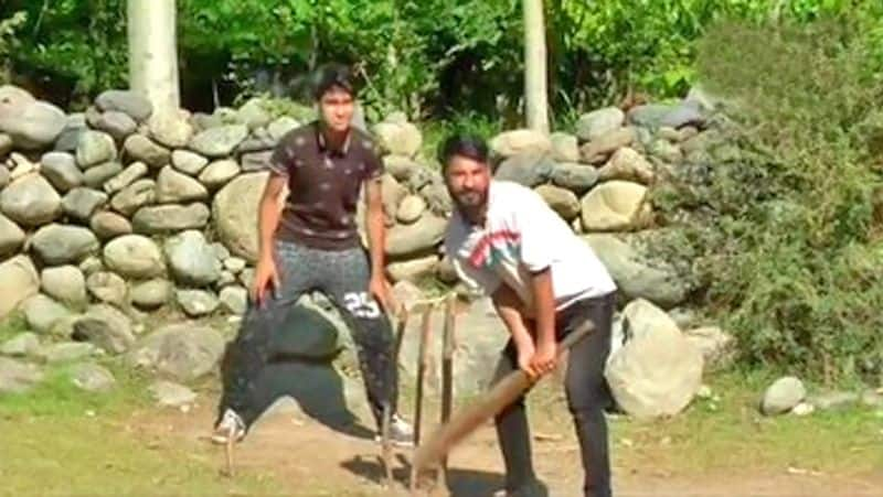 Kashmiri busy in playing cricket and separatist sent in jail