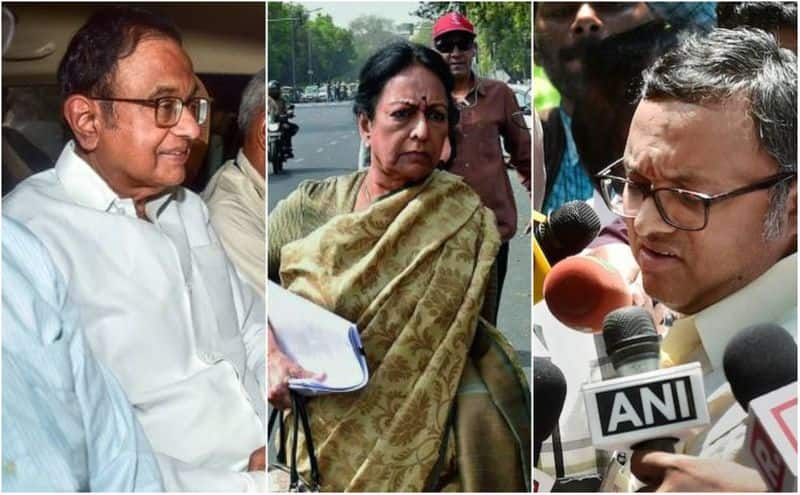 karti chidambaram reached delhi and start politics on his father's arrest