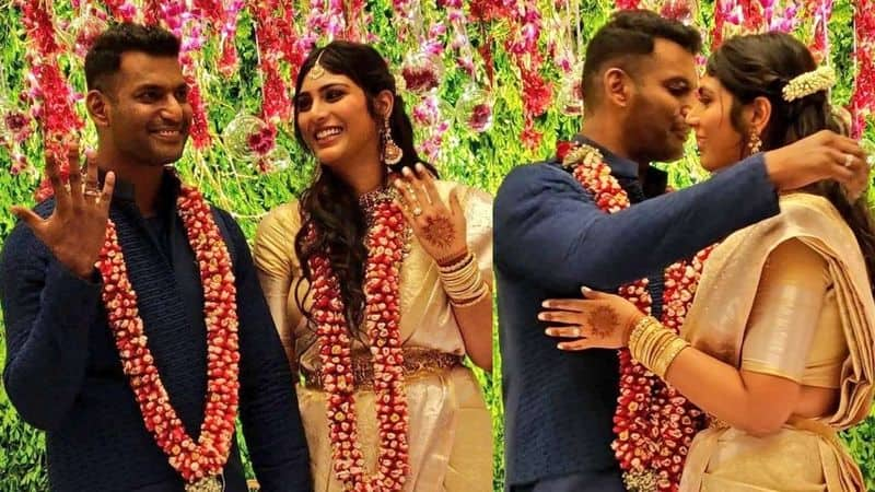 vishal father gk reddy about her marriage