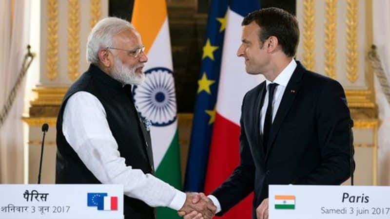 pm modi and france president pet and join press meet
