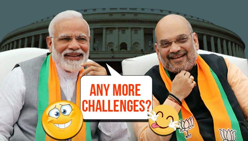 Article 370 scrapped, corrupt Congressman arrested: Any more challenges to PM Modi and Amit Shah?