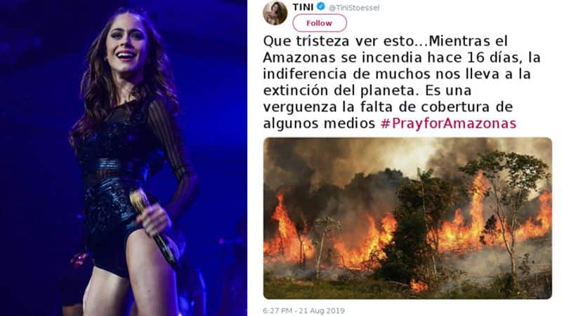 Amazon fires celebrities are spreading misinformation by photos