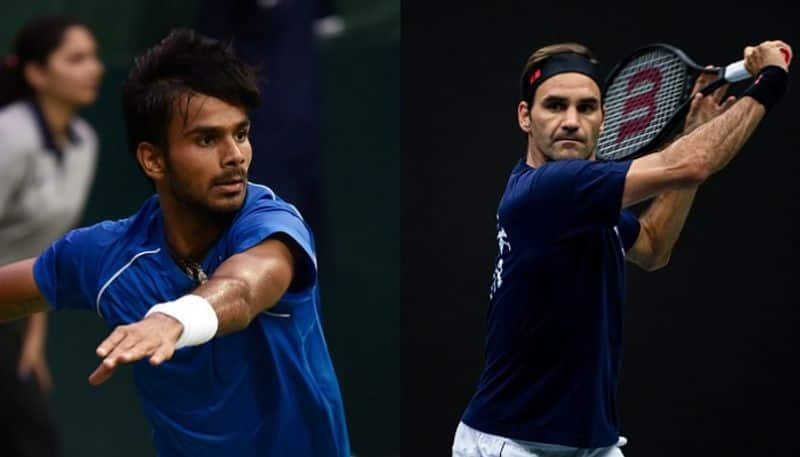 US Open 2019 India Sumit Nagal goes down to Roger Federer but not in straight sets