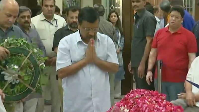JP Nadda, Harsh Vardhan and others leader laid wreaths on mortal remains of Arun Jaitley