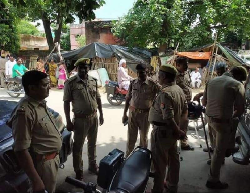 a young man killed during janmashtami celebration causes communal tension in the area