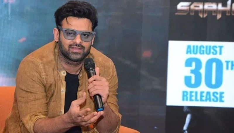 saaho is not an action film says prabhas