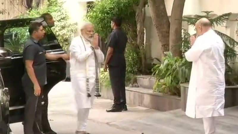 PM Modi visits family of former finance minister Arun Jaitley