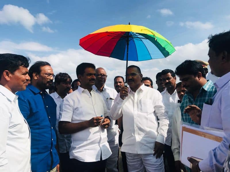 telangana cm will visits palamuru rangareddy projects work tomorrow, ministers are Examined palamuru area