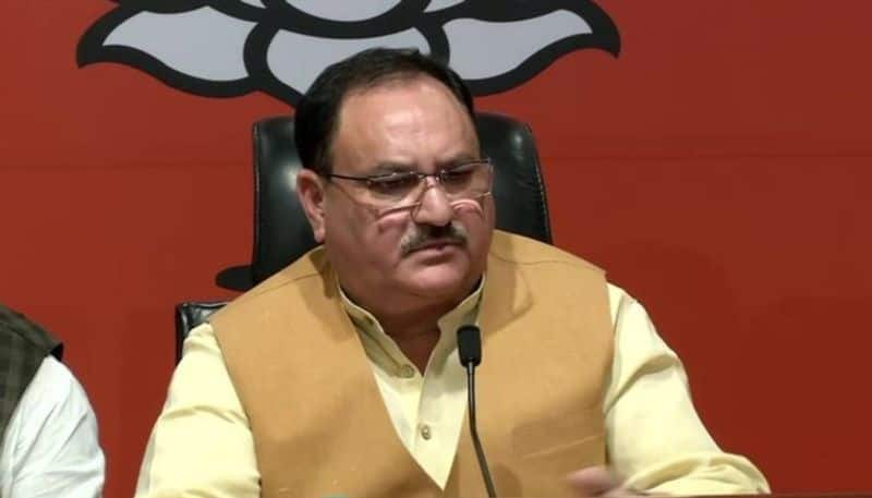 BJP working President JP Nadda slams mainstream leaders in Jammu and Kashmir for spreading lies about Article 370