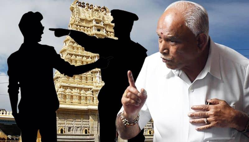 Karnataka: CM Yediyurappas nephew threatens police officer on duty