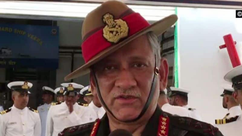 Army chief bipin rawat says Indian army is ready to attack pakistan occupied kashmir