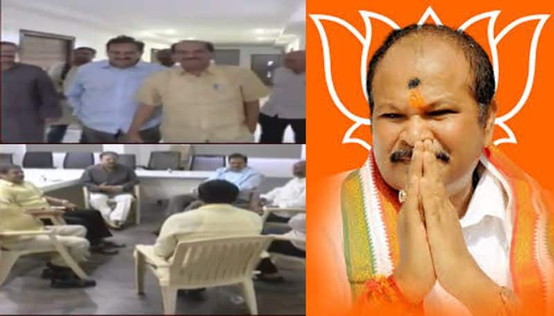 Differences in AP BJP: meeting against bjp chief kanna laxminarayana