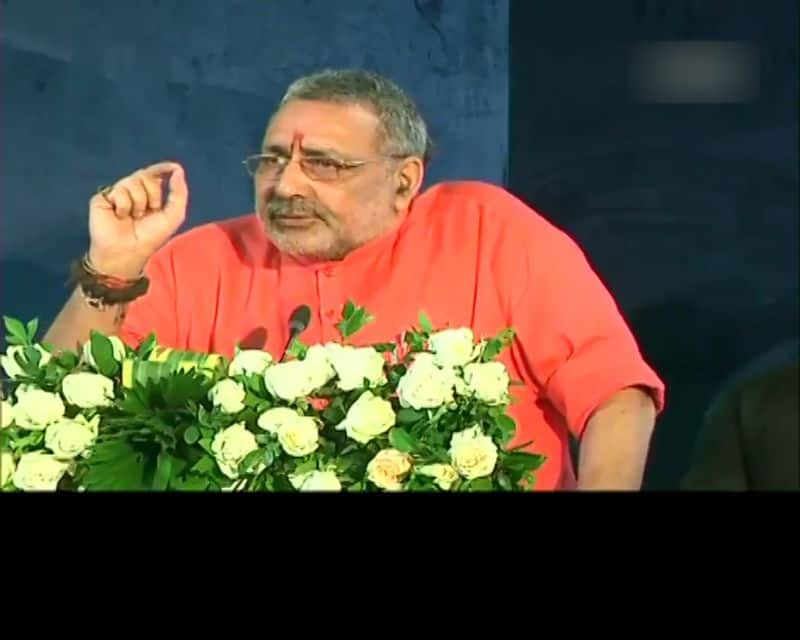 After all, why has Giriraj Singh's voice changed, has the high command stopped speaking