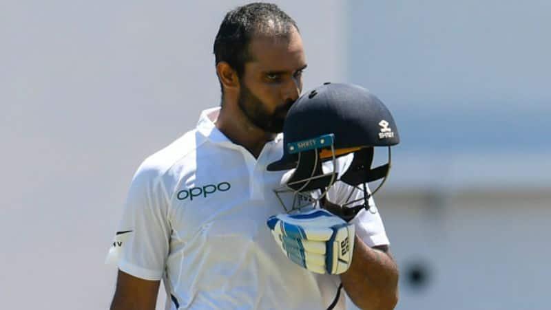 Virat Kohli heaps praise Hanuma Vihari India West Indies 2nd Test
