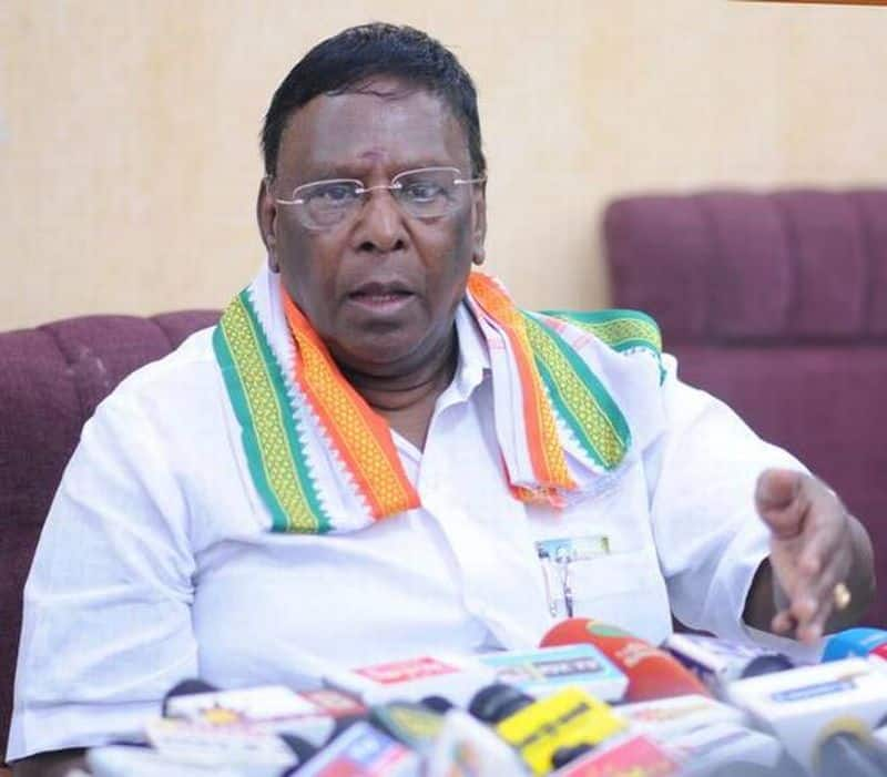 if our government maybe dissolved yet aim not worry about that - puducherry cm naryanasami open statement
