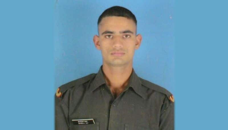 23 year old Indian soldier killed Pakistan shelling along LoC