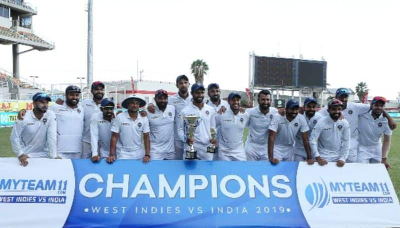 India thrash West Indies 2-0 clean sweep top World Test Championship table