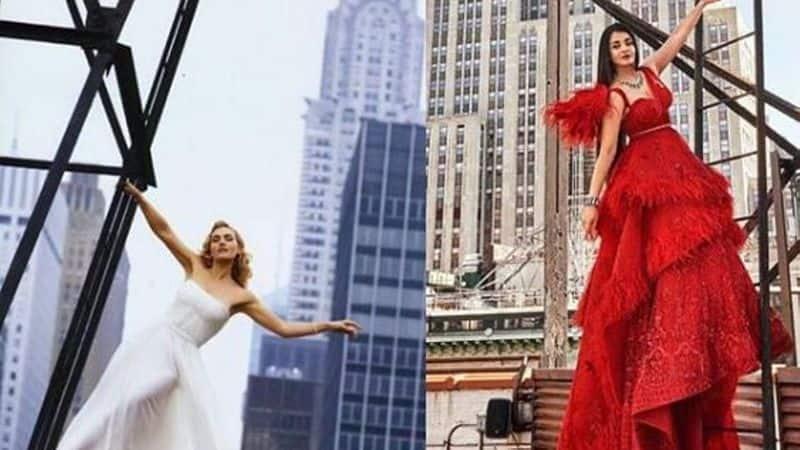 Aishwarya Rai's recent photoshoot replicates previous photos of Kate Winslet, Julia Roberts